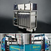 1/14 RC Model Metal Equipment Rack for DIY TAMIYA MAN Truck Dumper Model Car