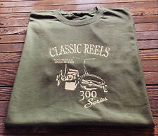 Fishing T Shirt carp fishing angling shirt vintage tackle reels