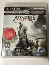 ASSASSIN'S CREED III. PLAYSTATION 3 SPECIAL EDITION 3D COMPATIBLE GAME