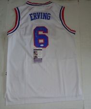 Julius Erving Dr. J signed Philadelphia 76ers jersey autographed JSA 3