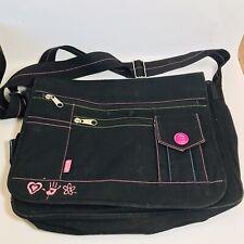 Mudd Black Tote Large Hand Bag Womens 16x13