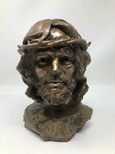 Tom Clark Cairn Bronze Sculpture Crown of Glory Jesus Bust