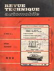 RTA revue technique automobile n° 286 NSU 4 CYLINDRES 1970