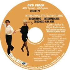 CHA CHA International Latin Beginning Intermediate Bronze Ballas DanceVision DVD