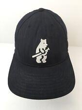 Vintage Chicago Cubs Cubbie Bear Cap Hat American Needle Size 7 MLB Blue USA