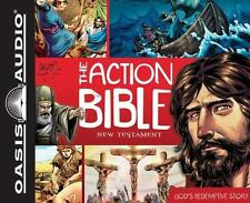 The Action Bible New Testament : God's Redemptive Story (2012, CD, Unabridged)