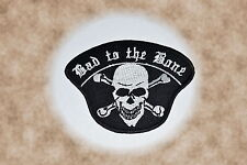 Bad To The Bone,Patch,Aufnäher,Badge,Biker,Aufbügler,Iron On,