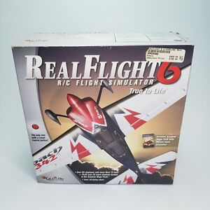 Realflight 6 R/C Flight Simulator with Interlink Elite Controller W Mega Pack