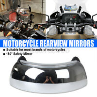 Motorcycle Windshield Mirrors 180° Wide Angle Rearview Safety For BMW