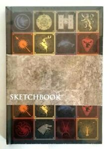 Game of Thrones Hardbound Sketchbook w Sigil Motif All-Over - HBO EXCLUSIVE GIFT
