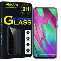 """Film Vitre Verre Trempé Protecteur d'écran Samsung Galaxy A40 5.9"""" SM-A405F"""