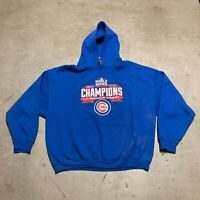 MLB Chicago Cubs 2016 World Series Champion Men's Pullover Hoodie