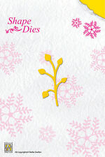 Nellie Snellen Shape Die Cutting Stencil - Single Leaf Branch - SD009 - New Out