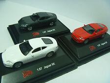 High Speed 1:87 Diecast Model Jaguar XK x3