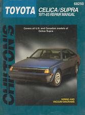 1971-1985 Chilton Toyota Celica & Supra Repair Manual