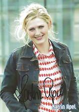 Autogramm AK Katrin Apel Ski Biathlon Langlauf Olympiasiegerin 2002, 12 x WC  Z