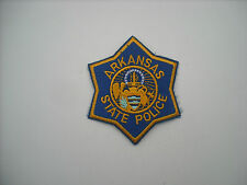 """""""Old Style""""  Arkansas State Police-  100% Embroidered-"""