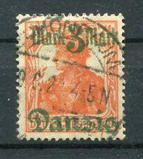 Danzig 29I avec ESTAMPILLE BEL ARBRE timbré (B0573