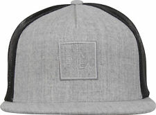 RVCA VA Sport VA All The Way Trucker Snapback Hat (Light Gray Heather)