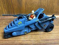 Cobra Overlord's Dictator w/ Overlord Figure Vintage GI Joe Vehicle 1990 Hasbro