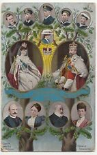 Royalty; King George V Coronation, 1911, Family Tree PPC By Howden Bros, Unused