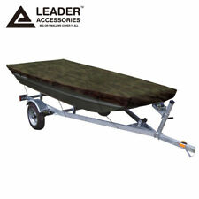 Leader Accessories Camouflage Jon Boat Cover Fits to 10ft Beam Width to 48''