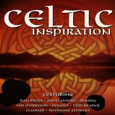 Celtic Inspiration (17 tracks, 1995) Van Morrison, Waterboys, Proclaimers.. [CD]