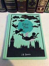 Peter Pan by J. M. Barrie - leather bound edition, illustrated - ships in a box