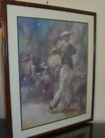 Ben Hogan..Rare  Lithograph of the Classic Golfer..Limited Ed...47 of 108