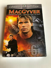MacGyver - The Complete Sixth Season (Dvd, 2006, 6-Disc Set) New - Sealed!