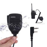 1PCS Handheld Radio Push-To-Talk Speaker Mic Microphone For Kenwood HYT Baofeng
