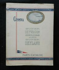 1964 1965 1966 CESSNA MODEL SUPER SKYWAGON & SKYLANE AIRPLANE PARTS CATALOG