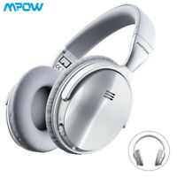 Mpow H5 ANC Wireless Bluetooth Over-Ear Headphones Headset for Pad/Tablet/Phones