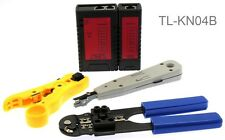 4 Piece Essential Computer Network Installation Tool Kit, CablesOnline TL-KN04B