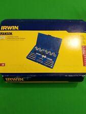 Irwin Hanson PC Carbon Steel Standard SAE and Die Tool Set w/ Case 1900204 24pcs
