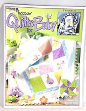 Quilt Pattern TADPOLE QUILTS FOR BABY 7 Projects by Tammy Tadd Leisure Arts 2003