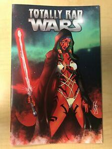Totally Rad Wars #1 Ahsoka Tano Star Wars Homage NICE Variant by Kupiszewski