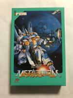 Juryoku Soukou Metal Storm Famicom FC Irem Used Japan Action Boxed Tested 1992