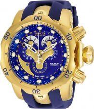 NEW INVICTA 14465 Reserve Men 53.7mm StainlessSteel Gold Blue dial 5040.F Quartz
