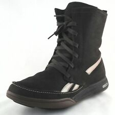 Reebok Easy Tone Women's Mid Calf Boots Brown Thinsulate US 10 UK 7.5 EU 41 EUC