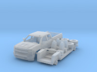 Chevrolet Silverado 1-87 HO Scale 3D Printed Herpa RPS Walthers Chevy Promotex