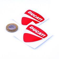 Ducati badge autocollant Decal Vinyle Moto Moto Autocollants 50 mm x2