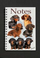 Dachshund Dog Notebook/Notepad with small image on every page - by Starprint