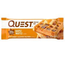 96 Quest Protein Bars Maple Waffle 8 X 12-2.12 Oz Bars BBD 12/19/19