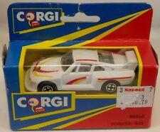 Corgi Porsche 935 Racer White in Window Box #90440 c.1991 (Mattel Era)