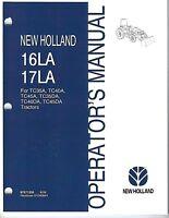 New Holland 16LA 17LA Loader Operator Manual 87571253