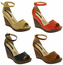 Women's No Pattern Wedge High Heel (3-4.5 in.) Sandals & Beach Shoes