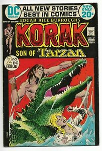 1972 DC Comic - Korak so of Tarzan #47 2nd DC Issue