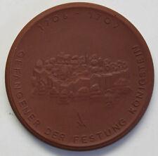Medaille Johann Friedrich Böttger um 1970 Porzellan Meißen Deutschland sf