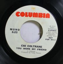 Rock Promo 45 Chi Coltrane - You Were My Friend / You Were My Friend On Columbia